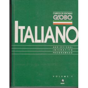 Curso De Idiomas Globo - Italiano - 4 Volumes - Capa Dura