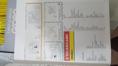 curso de idiomas globo espanhol com 27 fascículos e cassetes