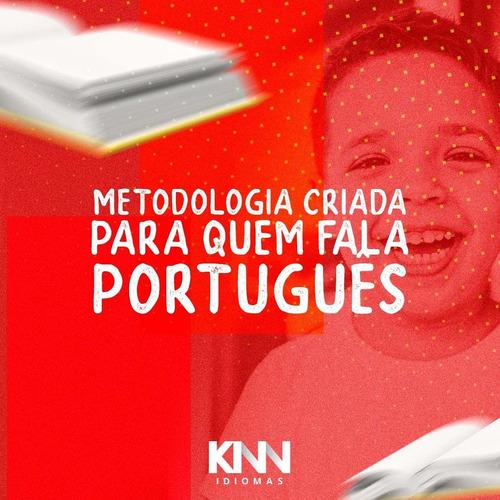curso de inglês e espanhol para crianças, jovens e adultos.