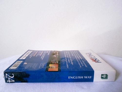 curso de inglês english way abril vol. 24 multimídia lacrado