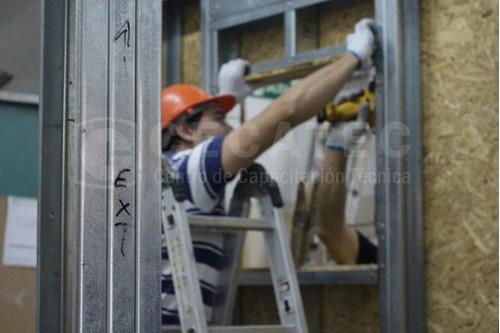 curso de instalador de steel framing