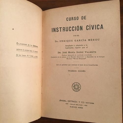 curso de instrucción cívica garcia merou