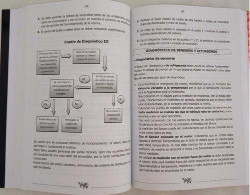 curso de inyección electrónica automotriz - libro + cd rom
