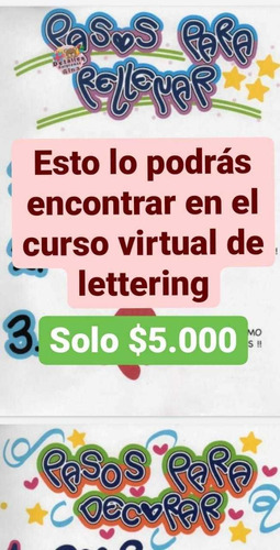 curso de lettering virtual