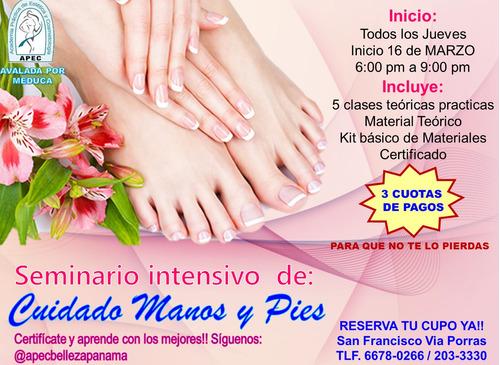 curso de manicure, pedicure y spa