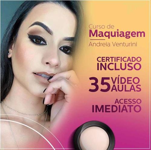 curso de maquiagem na web!! são 35 vídeo aulas !!