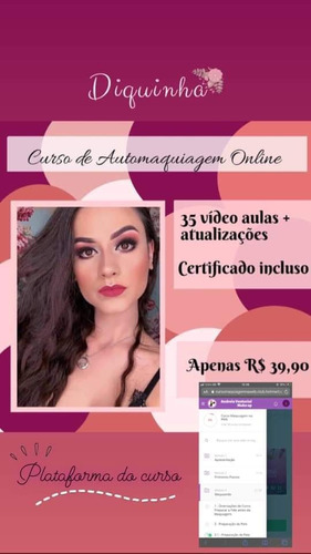 curso de maquiagem online e profissional