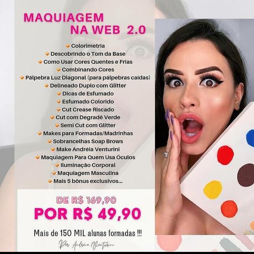 curso de maquiagem web - leia descrição antes de comprar