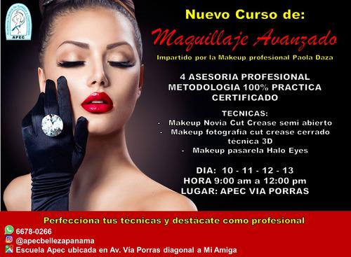 curso de maquillaje profesional nivel i y ii