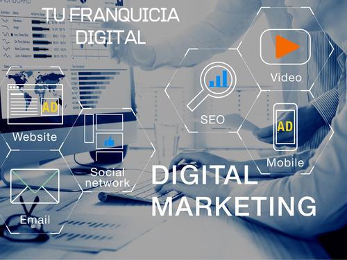 curso de marketing digital,  venta de franquicia del curso.