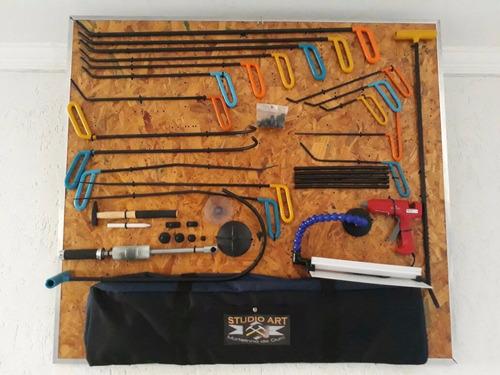 curso de martelinho de ouro + kit de ferramentas studio art