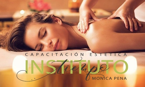 curso de masaje -inicial intensivo- . $3000/mes inicia 8/8