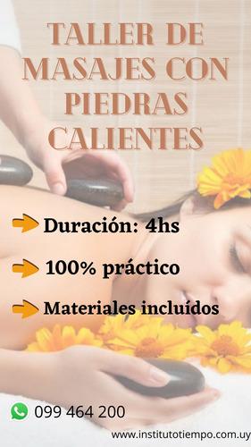 curso de -masaje inicial intensivo- $4000 mensuales