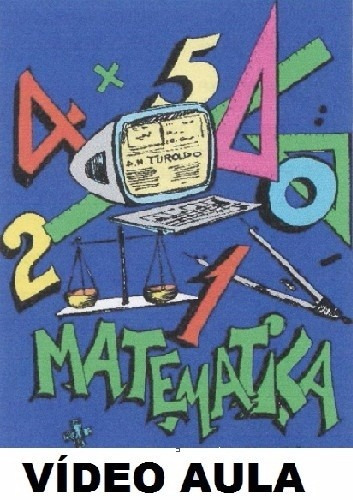 curso de matemática! aulas em 3 dvds! pq