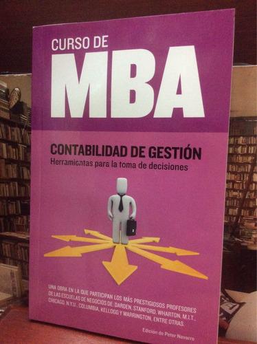 curso de mba, contabilidad de gestión