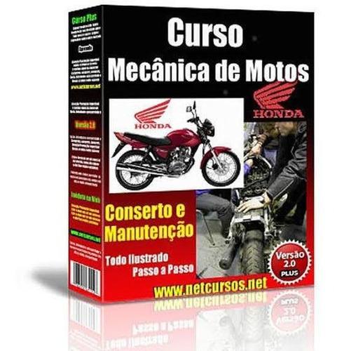 curso de mecânica e elétrica de motos,onlin envio imediato!