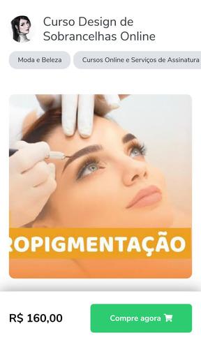 curso de micropigmentação dezaine em sobrancelhas