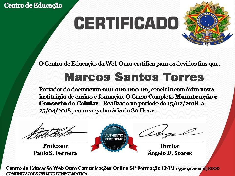 Curso De Montagem Manutenção De Computador Certificado - R$ 15,00 em ...