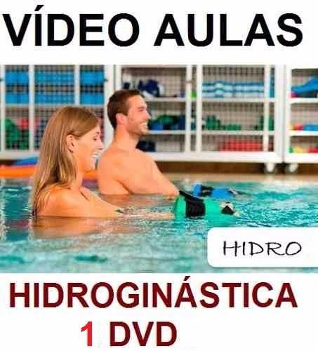 curso de natação + hidroginástica aulas em 4 dvds sdf