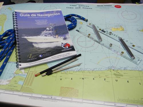 curso de navegación para capitán, patrón de segunda clase,