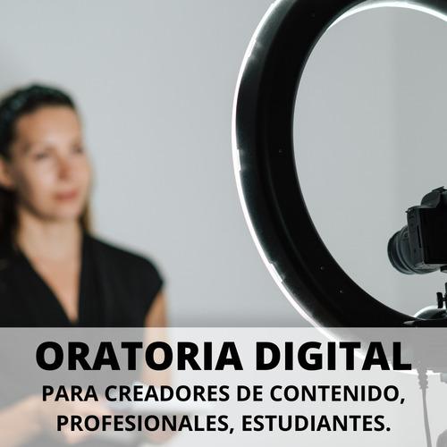 curso de oratoria digital para redes sociales y plat digital