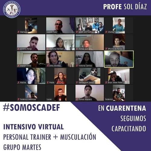 curso de personal trainer // musculacion virtual