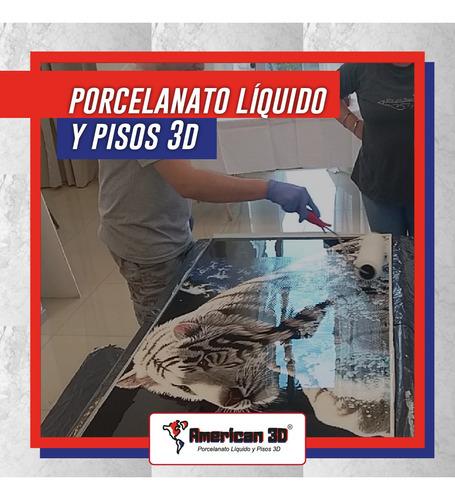 curso de pisos 3d y porcelanato líquido