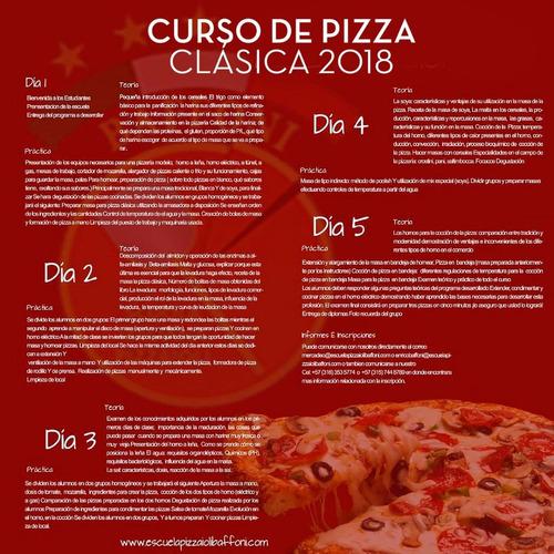 curso de pizza classica italiana