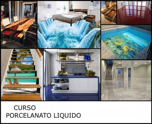 curso de porcelanato liquido - unidad a $32000