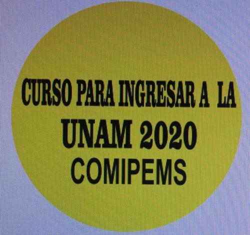curso de preparación para comipems 2020