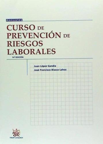 curso de prevención de riesgos laborales(libro )