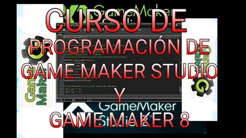 curso de programación de game maker