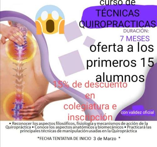 curso de quiropraxia en cuautla morelos