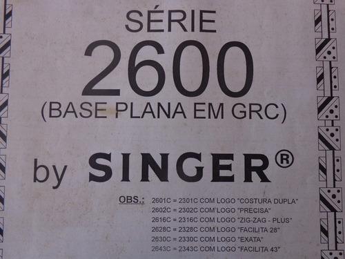 curso de regulagens da maquina singer facilita 43 2330 2343