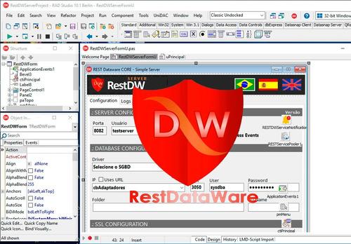 curso de rest dataware core