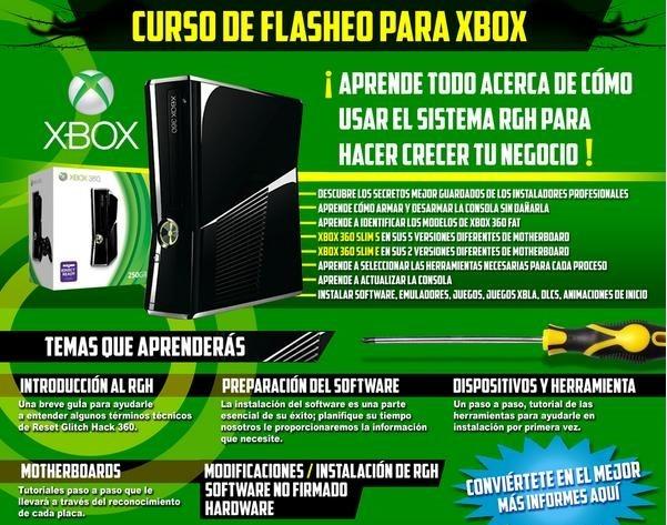 Curso De Rgh Xbox 360 2 500 00 En Mercado Libre