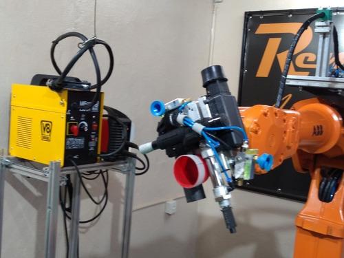 curso de robô industrial marca abb