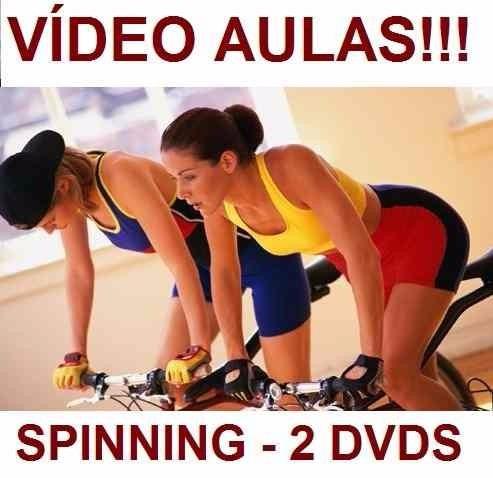 curso de spinning aulas em 2 dvds sdf