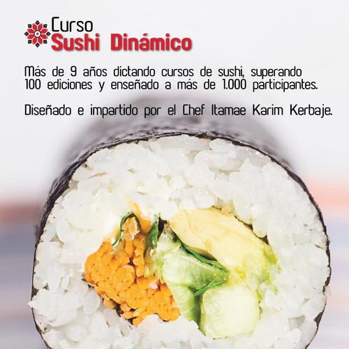 curso de sushi dinámico kaasushi