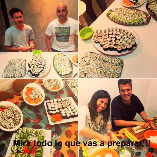 curso de sushi - promo2x1! intensivo - 4hs.