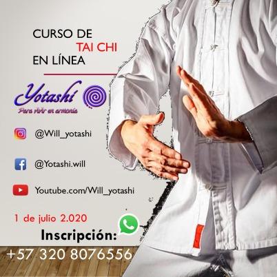 curso de tai chi con will yotashi en linea
