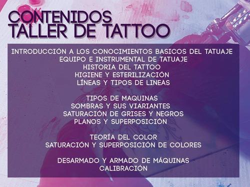 curso de tatuajes