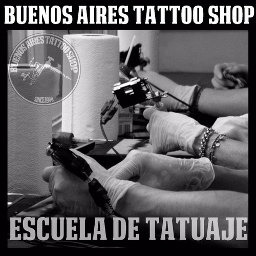 curso de tatuajes-tattoo-tatuar nivel 3- black & grey