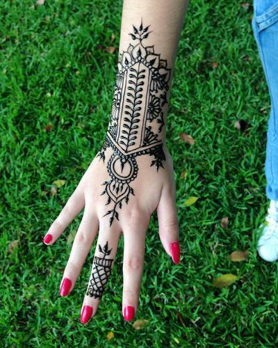 curso de tatuajes temporales de henna en caracas