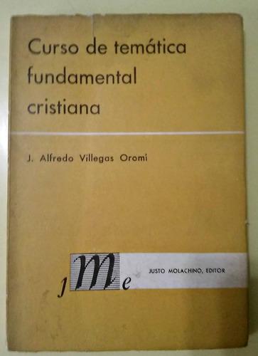 curso de temática fundamental cristiana villegas oromí