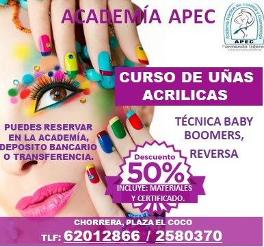 curso de uñas acrilicas baby boomers