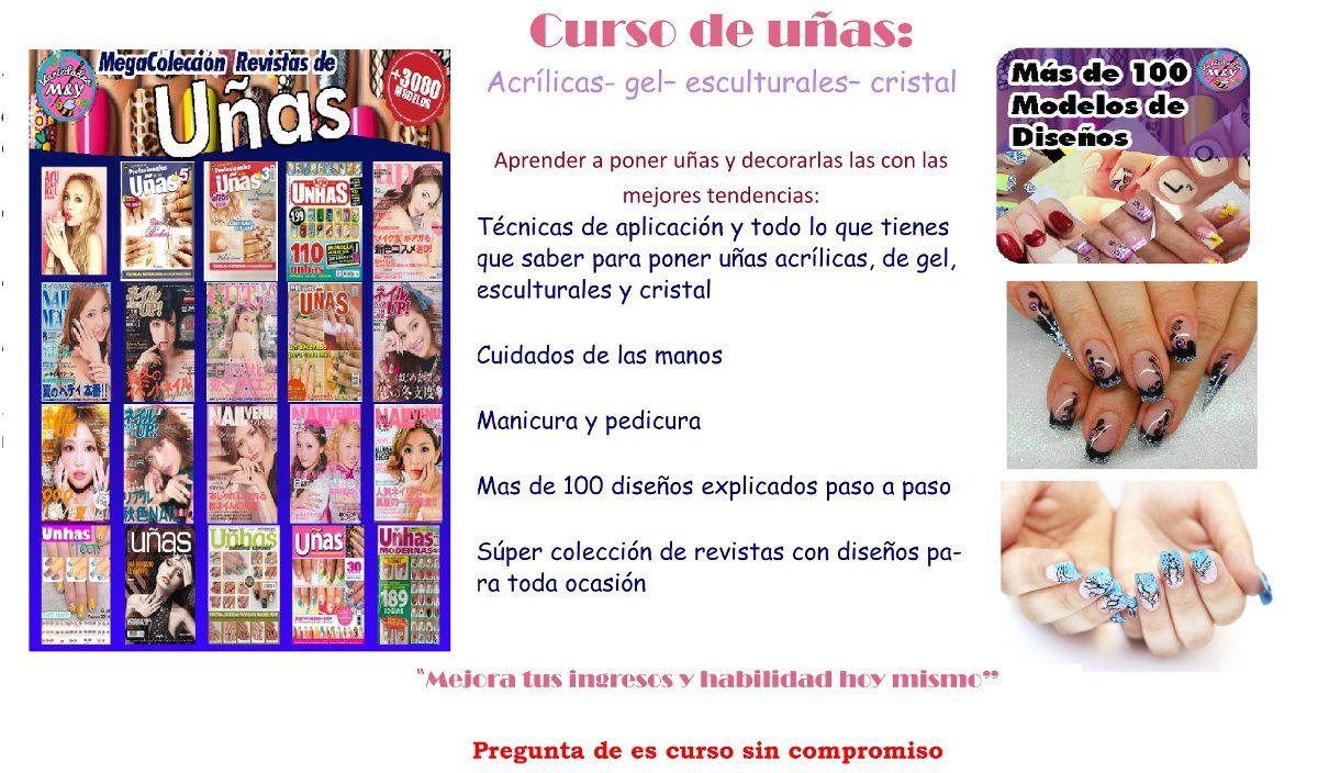 Curso De Uñas Acrílicas,esculturales,cristal,gelish - $ 50.00 en ...