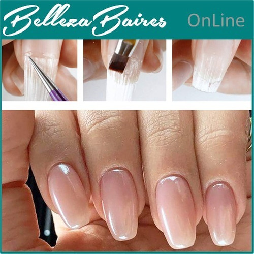curso de uñas en fibra de vidrio presencial o a distancia