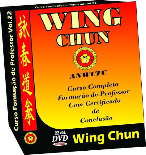 curso de wing chun nível de professor com certificado pac
