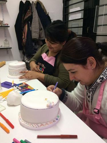 curso decotortas básico - decoración de tortas básico
